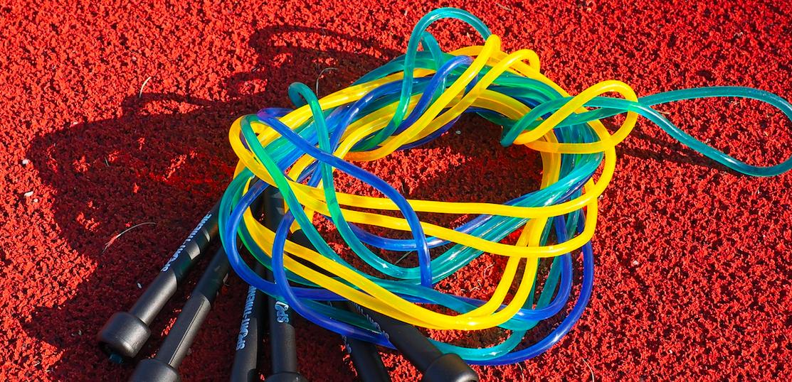 オリンピックイヤーに縄跳びを通じて健康の輪を作ります!